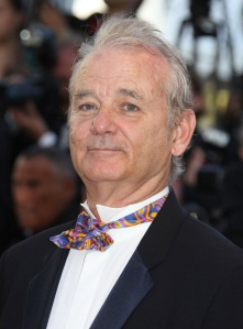 Bill Murray arrives for the Opening Ceremony and screening of 'Moonrise Kingdom' during the 65th Cannes International Film Festival, at the Palais des Festivals in Cannes