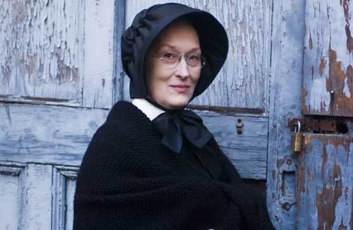 Because in a post on great female performances, why not a pic of Meryl Streep?